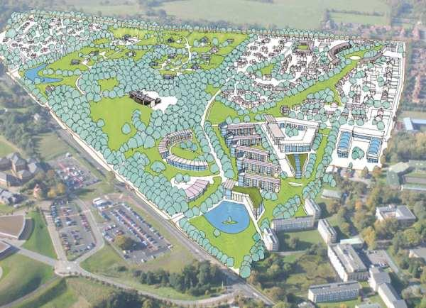 The Northern Echo: An artist's impression of the scheme