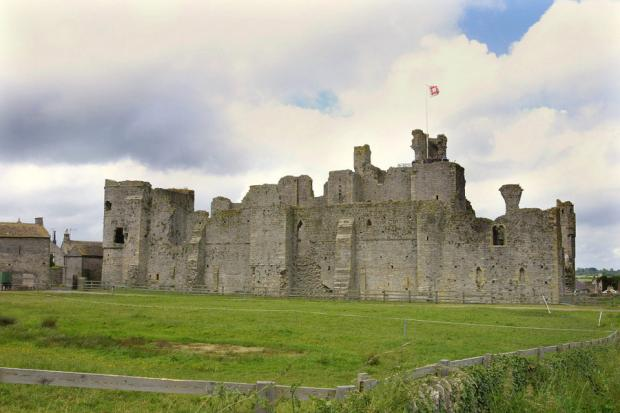 AN ENGLISHMAN'S HOME: Middleham Castle, near Richmond