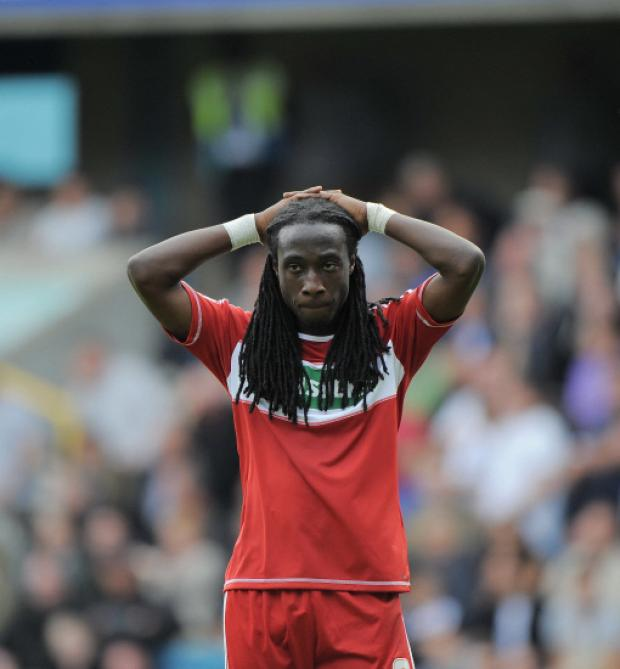 The Northern Echo: POOR FORM: Middlesbrough's Marvin Emnes has not scored a goal since December