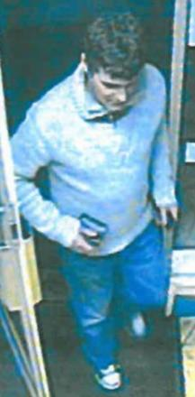 Recognise this man? The man police want to question after pharmacy fraud