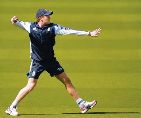 SAFE HANDS: Jonny Bairstow has proved himself as a batsman and bowler for club and country and will operate as a batsman in New Zealand today