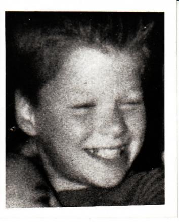 VICTIM: Simon Martin, who was 14 when he was found beaten to death