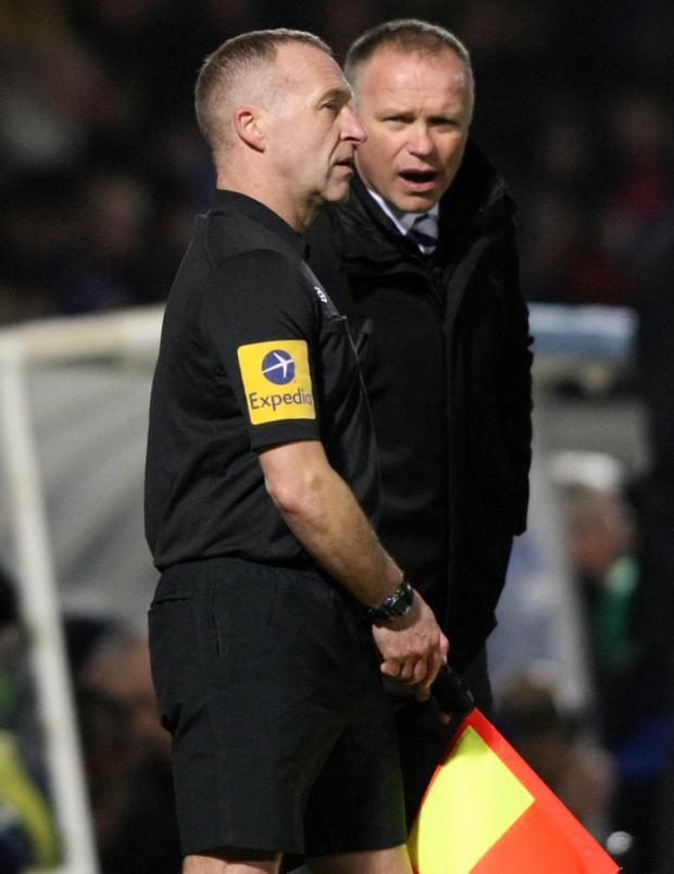 The Northern Echo: FLAGGING: Pools boss John Hughes