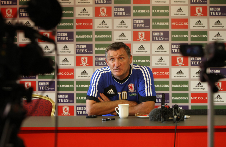 MAKING MOVEMENT ON THE TRANSFER FRONT? Boro boss Tony Mowbray accepts the need to boost his injury-hit squad