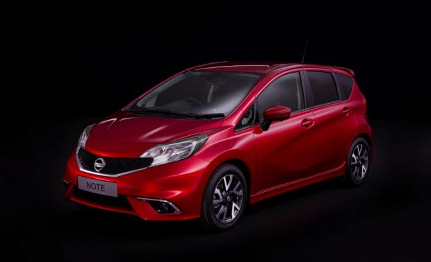 NEXT GENERATION: The new design Nissan Note