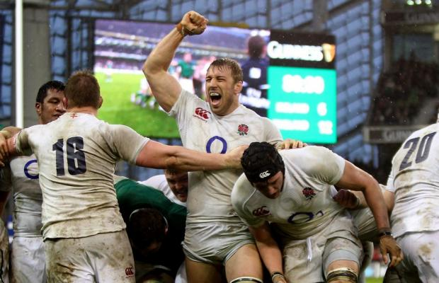 CAPTAIN MARVEL: Chris Robshaw has proved a fine skipper for England – now he's in the frame to lead the British Lions
