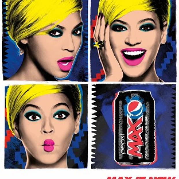 The Northern Echo: Pop Icon, Pop Art! Designed by Beyonce and Pepsi will appear in more than 50 countries