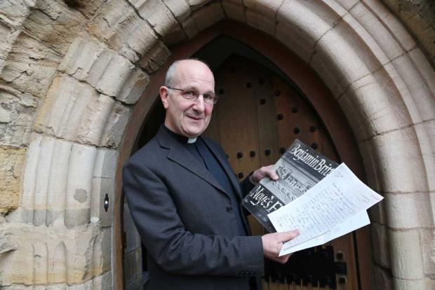 The Very Reverend Michael Sadgrove, Dean of Durham