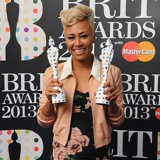 Emelie Sande picked up gongs for British Female and Album of the Year at the 2013 Brit Awards