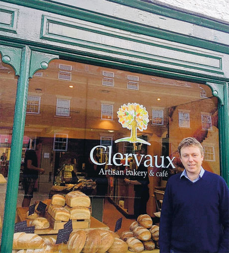 CHANCE TO LEARN: Rick McCordall, director of Clervaux Artisan Bakery and Cafe