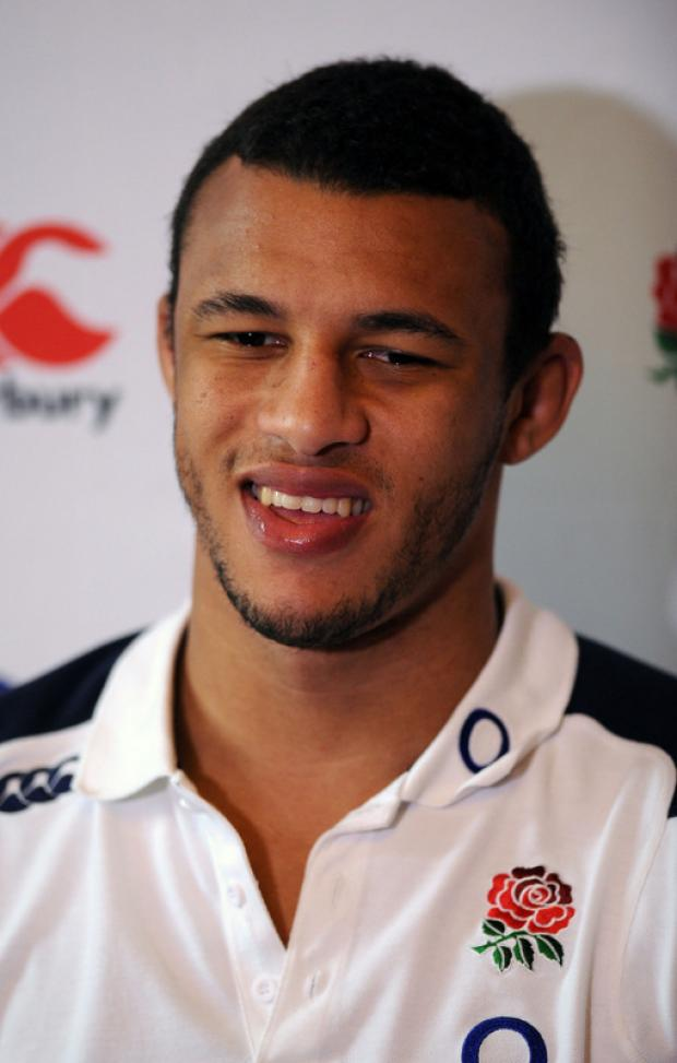 ON THE FRONT FOOT: Courtney Lawes