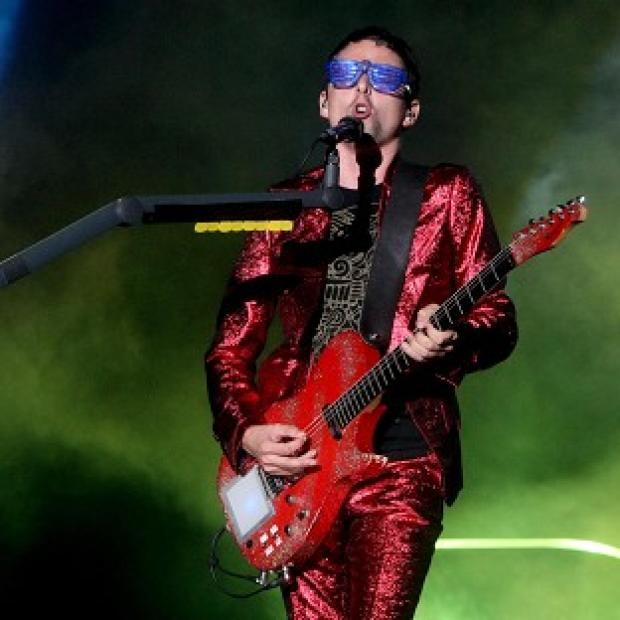 Matt Bellamy said his son already loves music