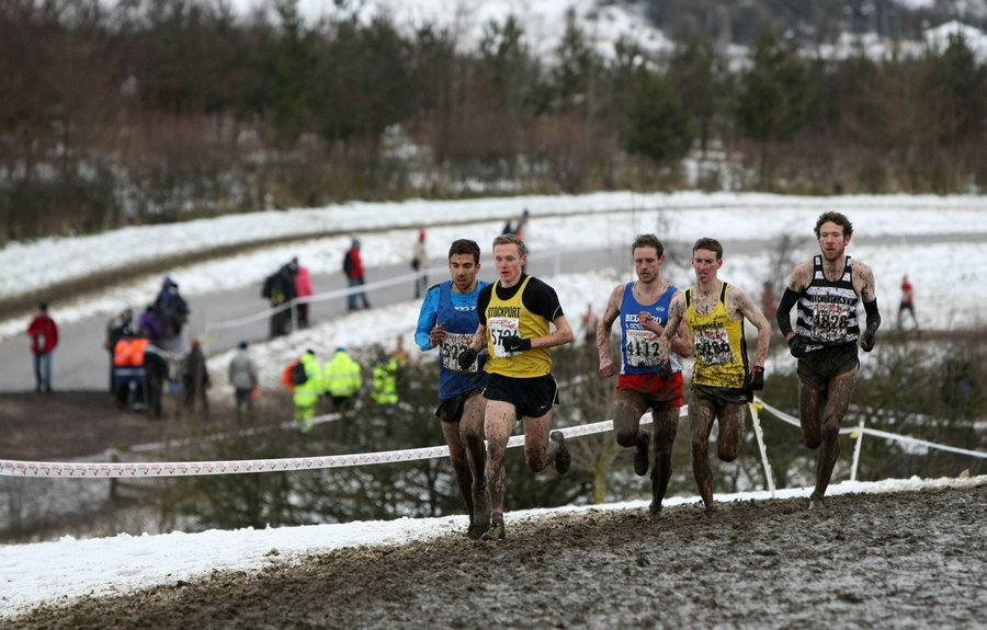 TOUGH GOING: Action from the National Cross Country Championships at Herrington Country Park