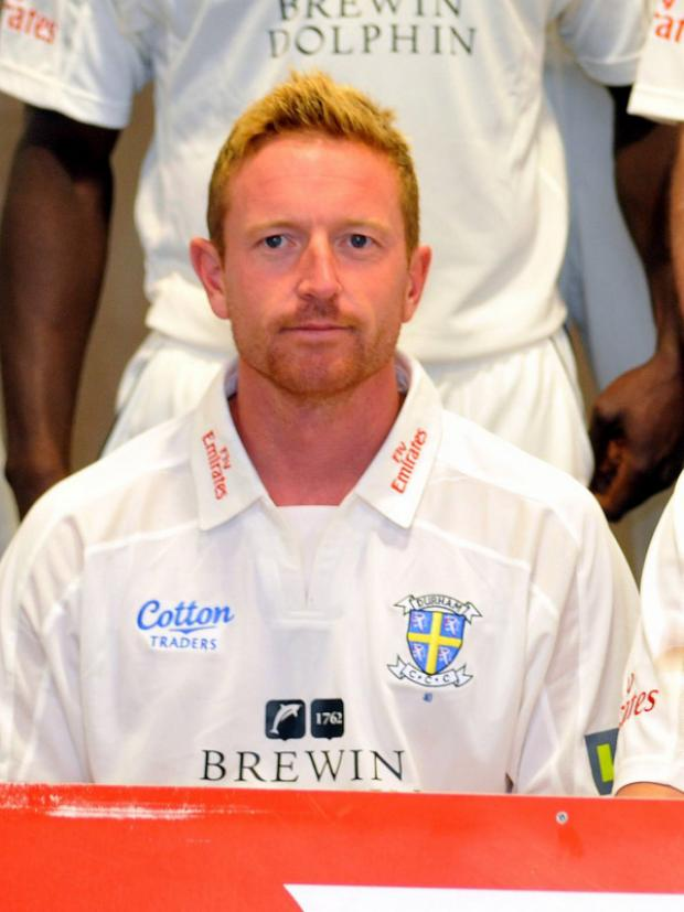 INJURED: Paul Collingwood