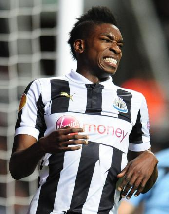 LOAN RECRUIT: Sammy Ameobi has moved from Newcastle United to Middlesbrough