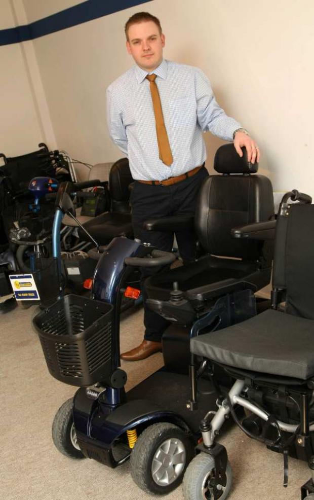 Dan Hillerby of Northallerton Shopmobility is calling for greater testing and regulation of mobility scooters.