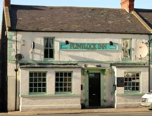 Violent brawl: The Flintlock Inn