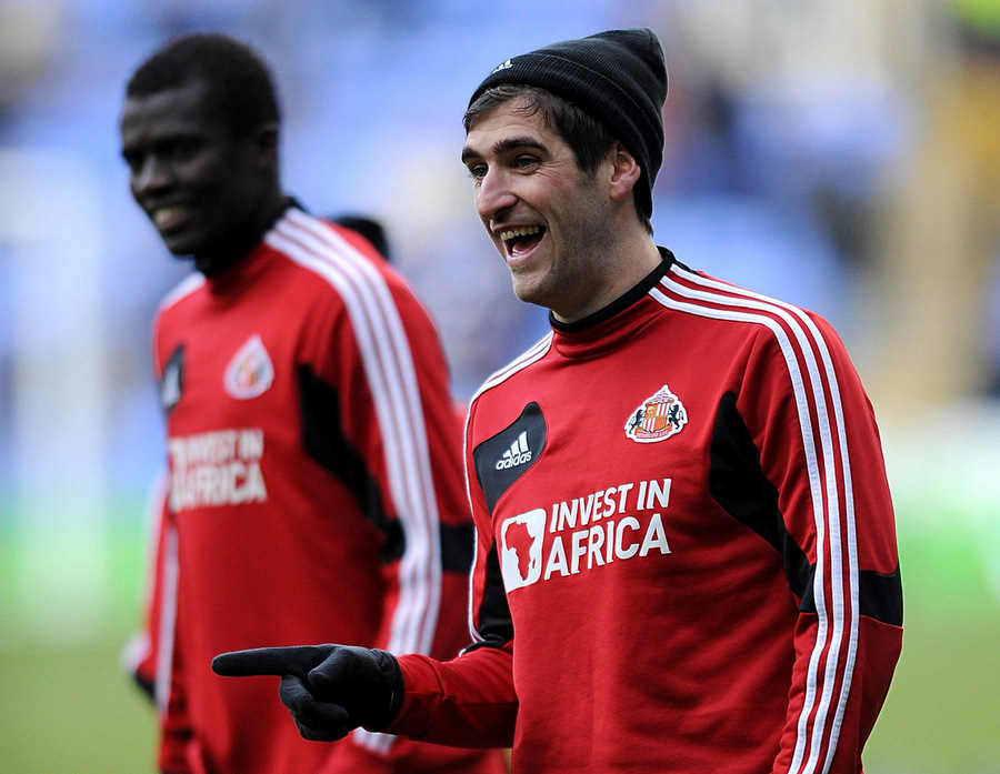 STRIKE DUO: New Sunderland signing Danny Graham hopes to form a partnership with Steven Fletcher