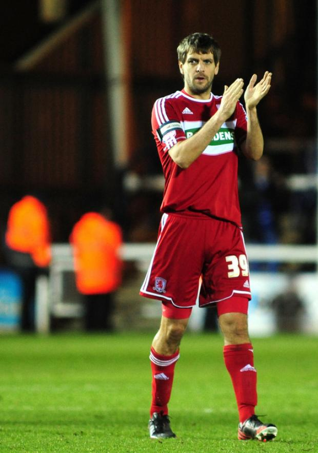 FRANK TALKING: Jonathan Woodgate