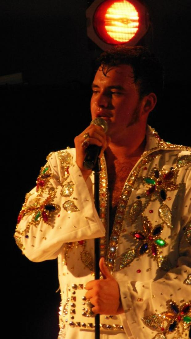 Mark Elvis Nixon as Elvis Presley