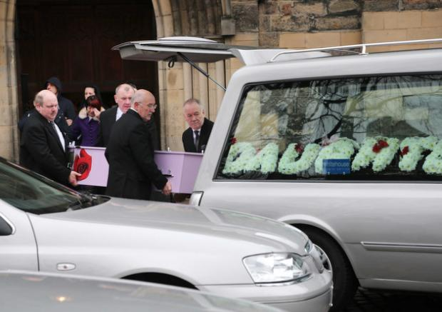 It was standing room only at St Cuthbert's Church in Darlington as hundreds gathered to pay their respect