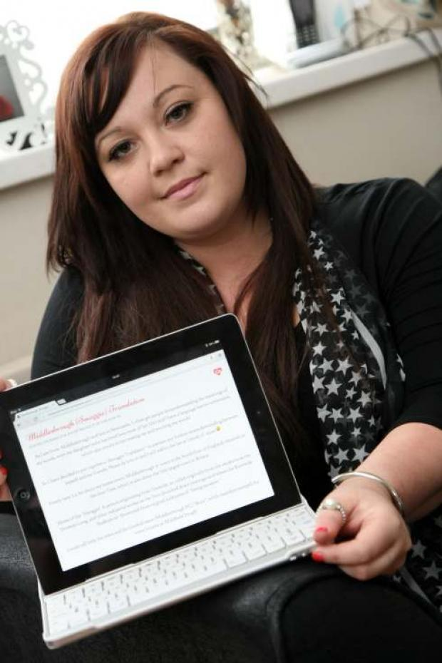 Nichola Ridley, a Boro lass exiled in Geordieland caused an internet sensation – 60,000 hits in a single day - with her 'Smoggie Dictionary'