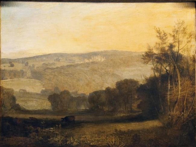 Lowther Castle – Evening by J M W Turner