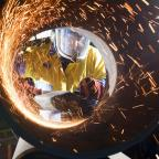MANUFACTURING: Sparks fly at Tata Steel