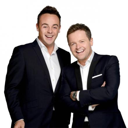 Ant McPartlin (left) pictured with Declan Donnelly