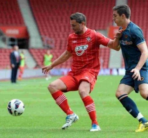 Frazer Richardson, pictured playing for Southampton, is set to leave Middlesbrough