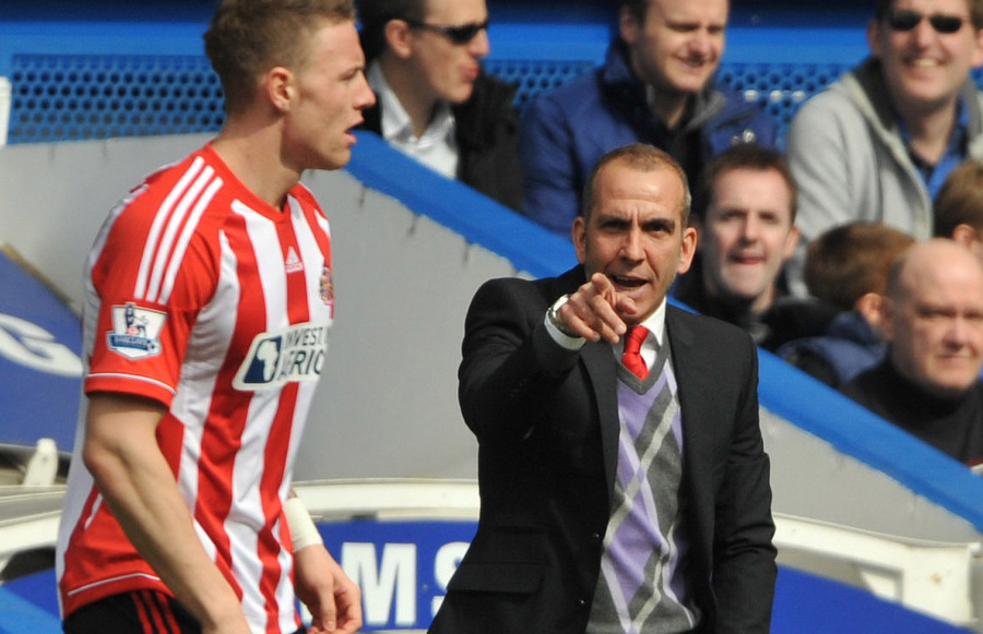HARSH WORDS OF ENCOURAGEMENT: Boss Paolo Di Canio has been critical of striker Connor Wickham