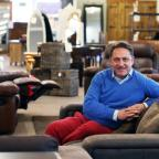 Heart and home: Jason Hadlow in his Simply Dutch furniture store