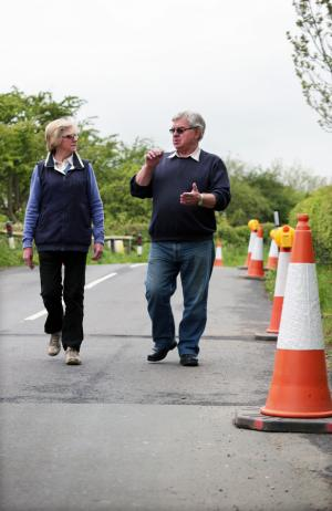 Work to repair a road bridge weakened by flood water is set to begin next week, with business owners hoping the impact on their livelihoods will be minimal