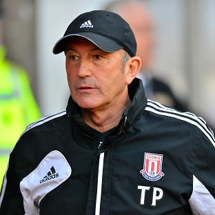GLORY DAYS: Tony Pulis achieved a large amount of success during his time in charge of Stoke City