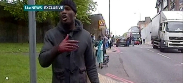 Police treat Woolwich killing as terrorist attack as man is hacked to death in street
