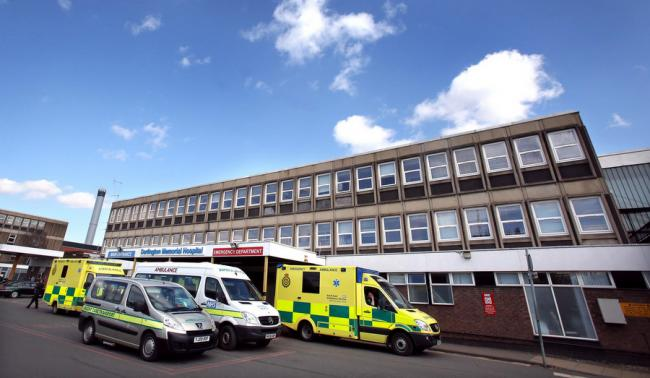 Accident and Emergency at Darlington Memorial Hospital