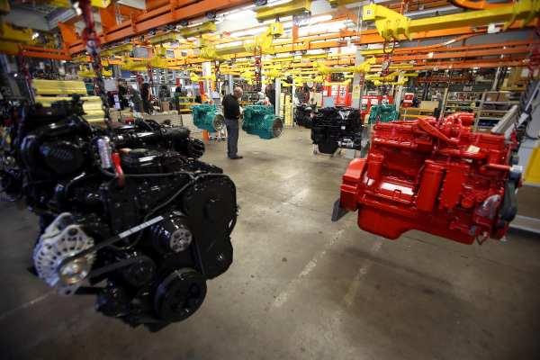 Cummins employs about 700 workers at its Darlington engine factory