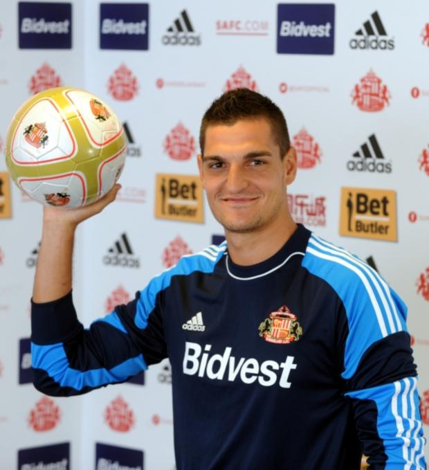 The Northern Echo: STAR MAN: Vito Mannone has made a major impact at Sunderland since his summer move from Arsenal
