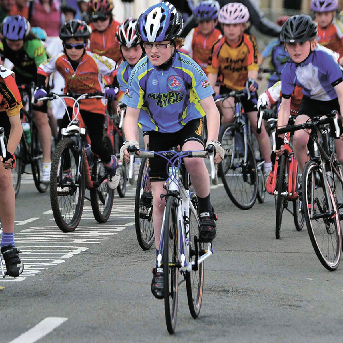 NORTH-EAST BOUND: The first event in cycling's National Youth Series will be held in Sunderland