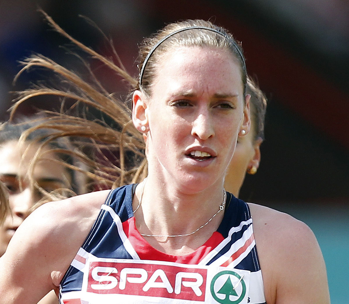 READY TO GO: North-Easterner Laura Weightman competes in the heats of the 1,500m at the Commonwealth Games this lunchtime