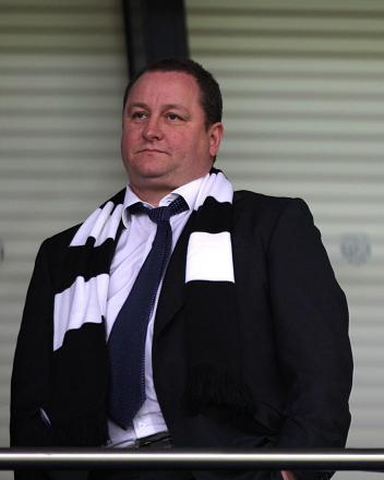 NO CHANGE: Mike Ashley will not be modifying his preferred financial model, according to new Newcastle managing director Lee Charnley