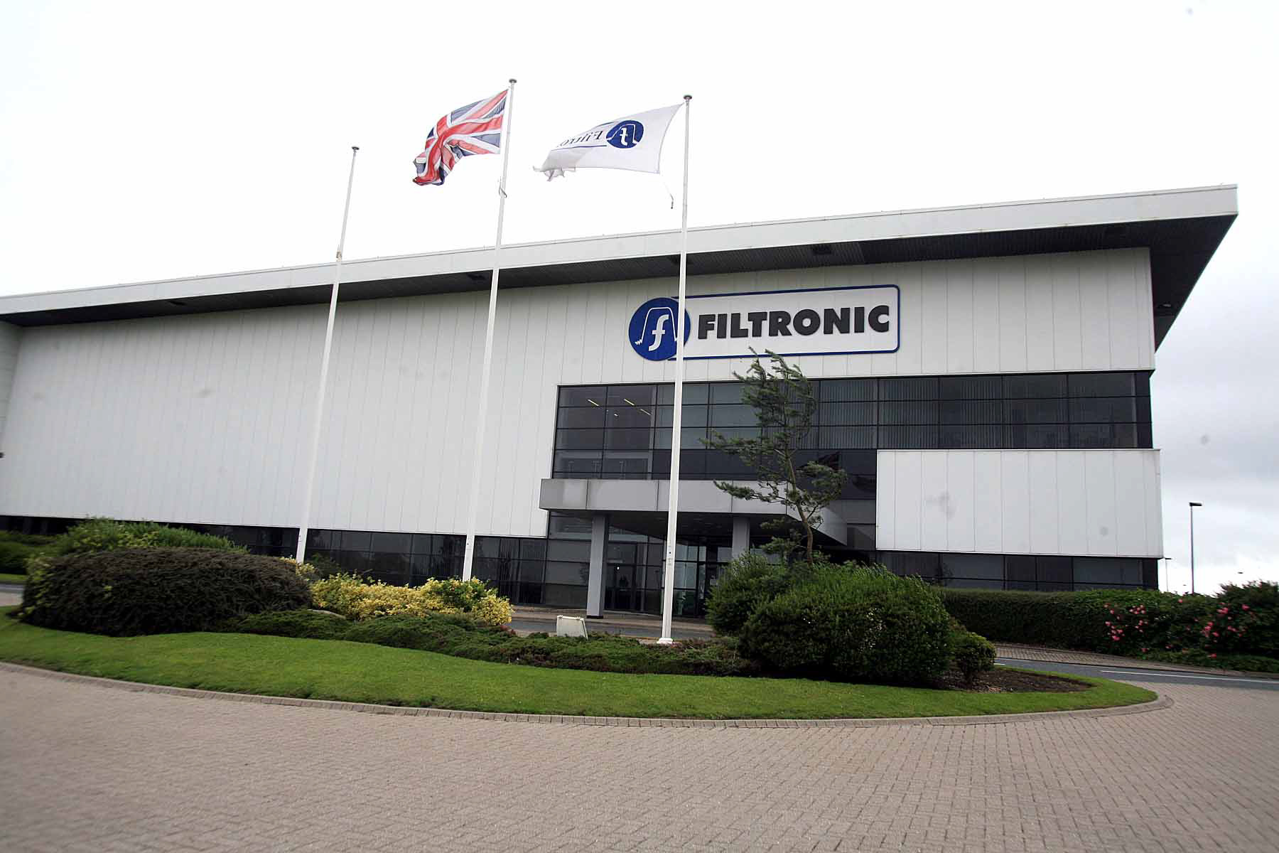 Filtronic's former factory in Newton Aycliffe, pictured in 2007 before RFMD took over the site