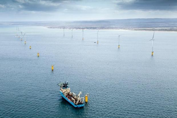 The UK's wind, wave and tidal energy sector directly employs more than 18,000 full time staff, an industry report said.