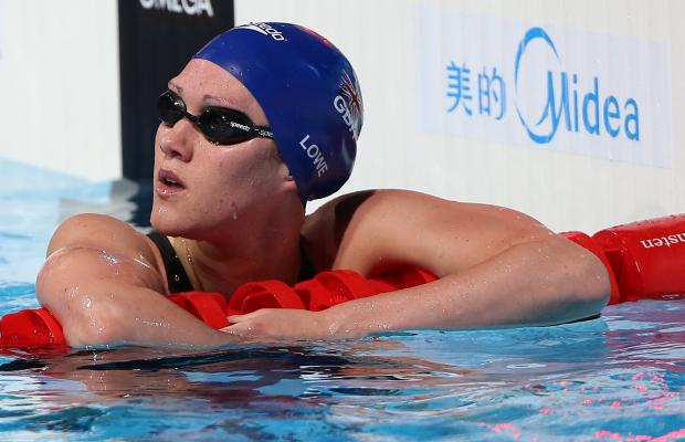 SAFE PROGRESS: Hartlepool's Jemma Lowe, who swims for Wales, safely qualified for the semi-finals of the 100m butterfly on the opening day of competition at the Commonwealth Games