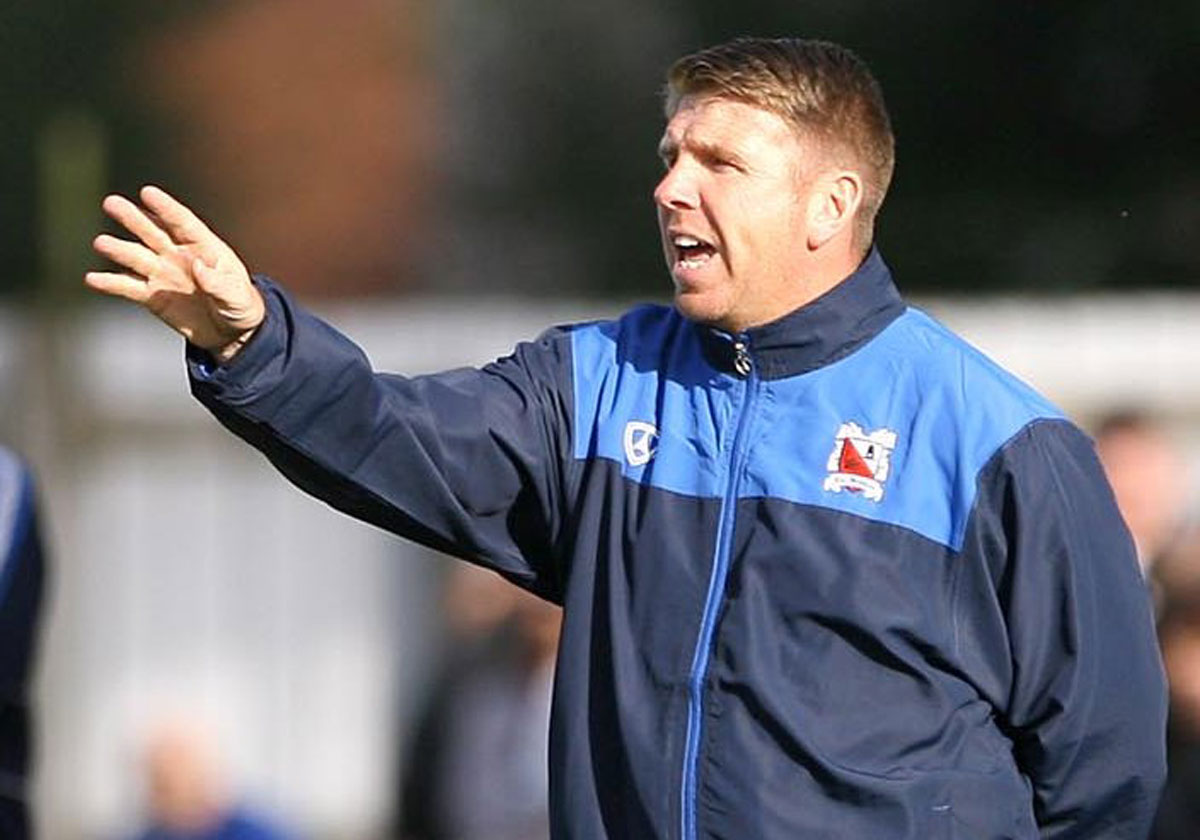 YOUTHFUL OUTLOOK: Martin Gray will send the youth team to play at Gateshead tonight