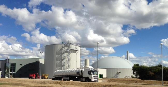 Emerald Biogas, in Newton Aycliffe, gears up to start