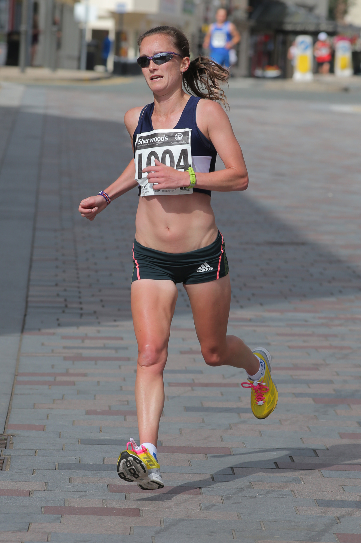 CONFIRMED STARTER: Wearsider Alyson Dixon will compete in next month's Sunderland City Half Marathon