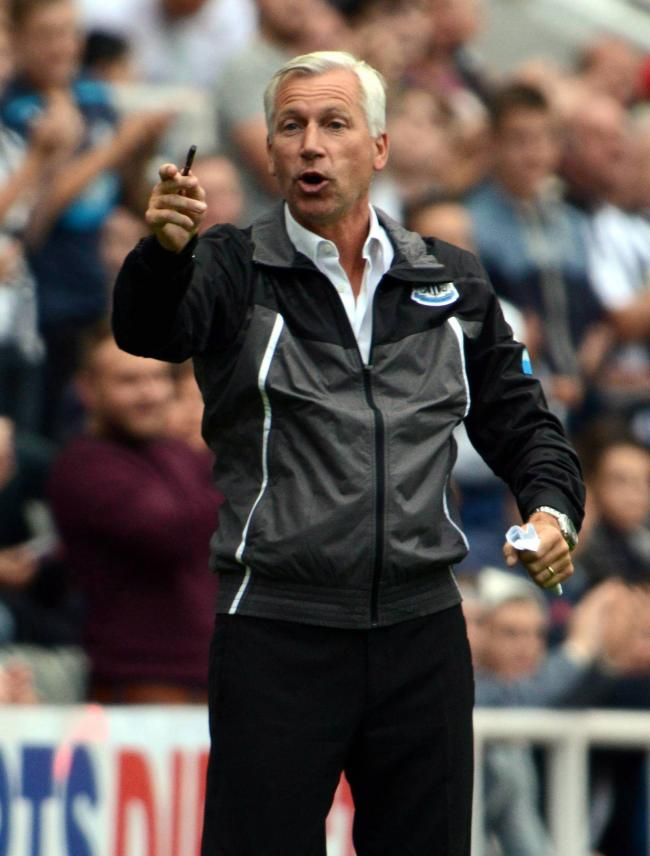 ON THE LOOKOUT: Alan Pardew says Newcastle will look at players in other countries, including England, aside from France