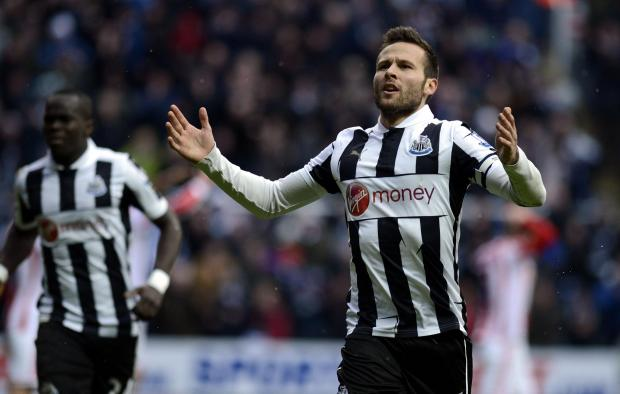 The Northern Echo: Head turned: Yohan Cabaye