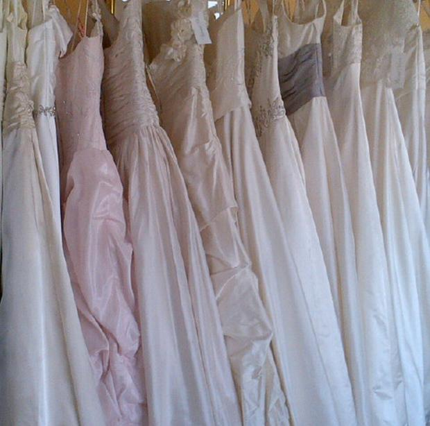 ZONE SINGLE: Dig out your old wedding dresses